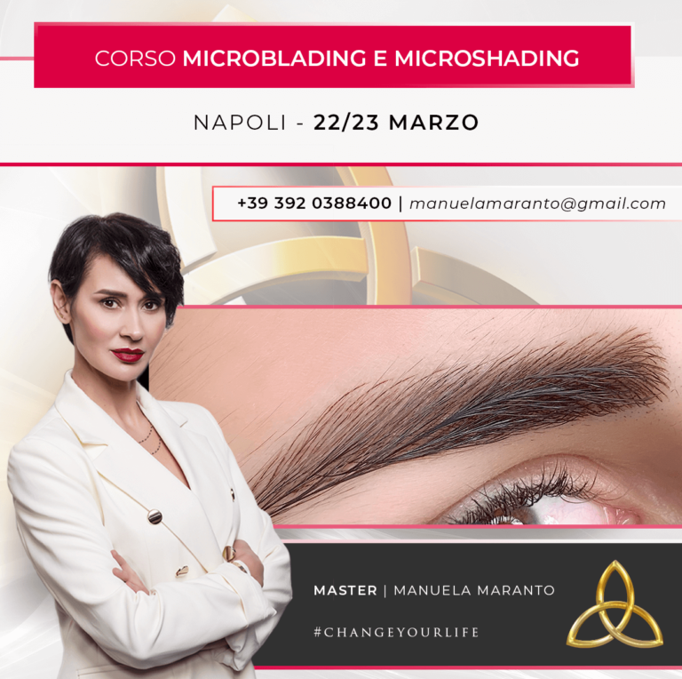 Microblading e Microshading