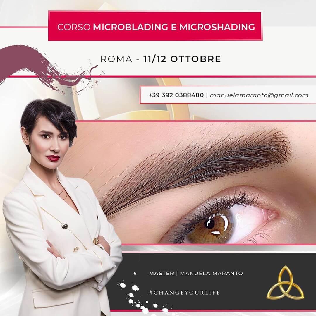 Corso Microblading Microshading Roma
