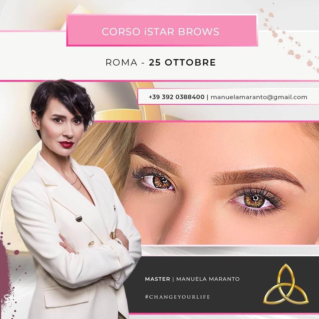 corso iStar Brows roma