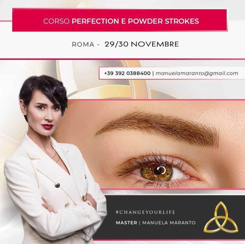 Corso Perfection e Powder Strokes - 29 30 novembre 2020