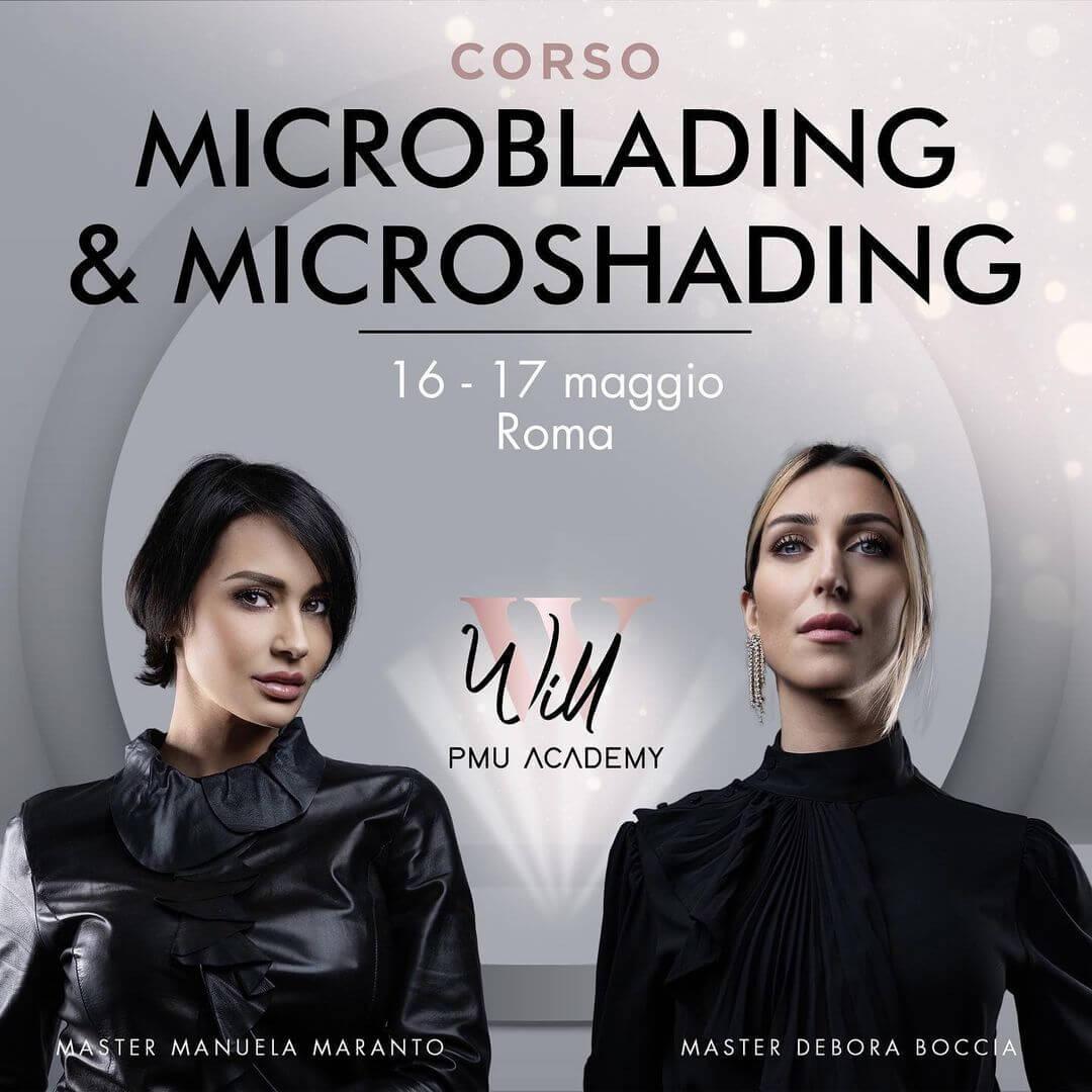 Corso Microblading Microshading Roma Maggio 2021
